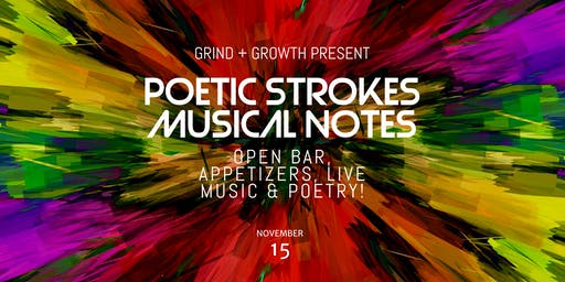Poetic Strokes & Musical Notes Paint Party