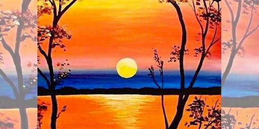 Brew N Brush: Matilda Sunset