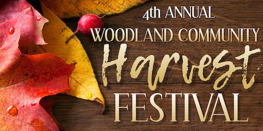 4th Annual Woodland Community Harvest Festival