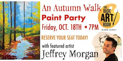 Autumn Walk Paint Night!