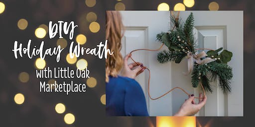 DIY Holiday Copper Star Wreath