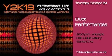 THURS Y2kloopfest Duet Performances at Felix Kulpa Gallery biglietti