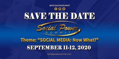 Social Power Summit 2020 tickets