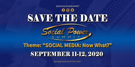 Social Power Summit 2020 tickets