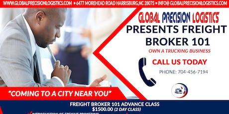 Freight Broker 101 Advance 2 day Seminar tickets