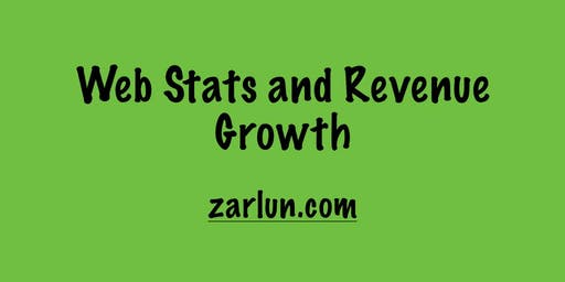 Web Stats and Revenue Growth Los Angeles EB