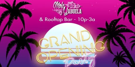 Grand Opening Rooftop Latin Night tickets