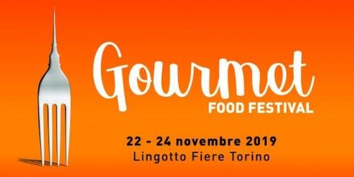 Antonio Cospito presenta il libro Felicità al Gourmet 2019 di Torino