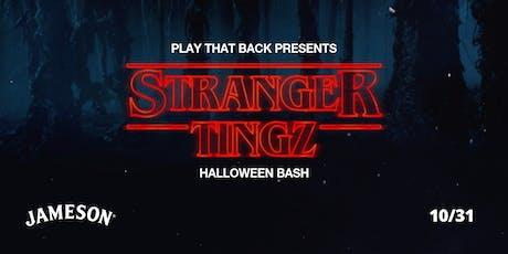 Stranger Tingz Halloween Bash tickets