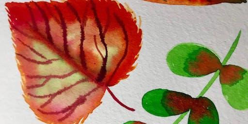 Watercolor 101: Autumn Florals