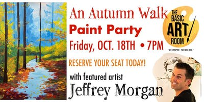 An Autumn Walk Paint Party