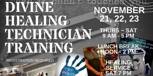 SPARTANBURG, SC - JGLM DHT - Divine Healing Technician Training