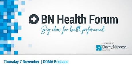 BN Health Forum: Big Ideas for Health Professionals tickets