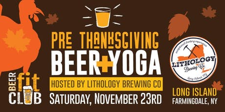 Pre-Thanksgiving Beer + Yoga tickets