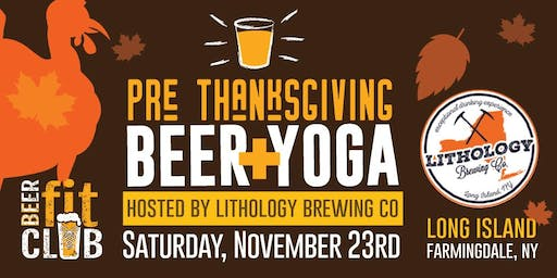Pre-Thanksgiving Beer + Yoga