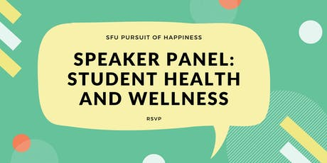 Speaker Panel: Student Health and Wellness tickets