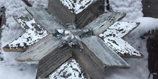 Barn Wood Quilt Star Bottled Up High River Dec 12th