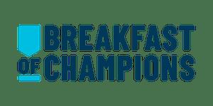 Breakfast of Champions in support of SickKids