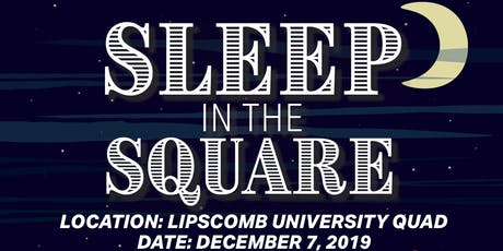 Sleep in the Square tickets