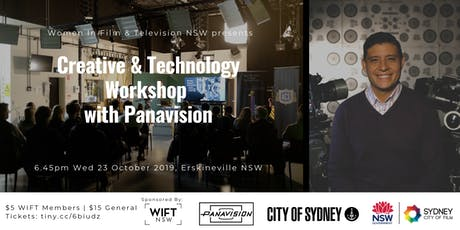Creative & Technology Workshop with Panavision  - Hosted by WIFT NSW tickets