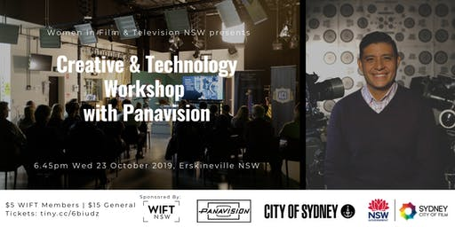 Creative & Technology Workshop with Panavision  - Hosted by WIFT NSW