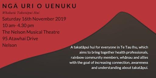 Ngā uri o Uenuku: Whakatū Takatāpui Hui