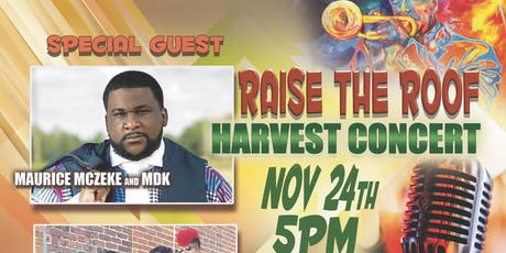 Raise The Roof Harvest Concert tickets