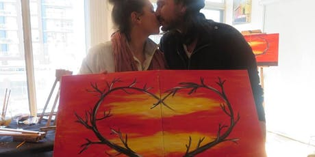 Sweetest Day Couples Painting Workshop + Wine Tasting by Cricova Winery tickets