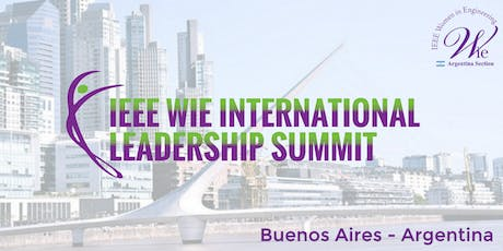 IEEE WIE International Leadership Summit Buenos Aires entradas