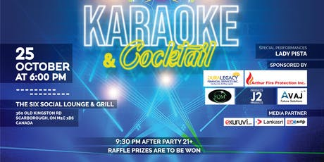 Karaoke and Cocktails tickets