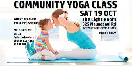 Community Yoga Class - with Phillippa Sherry - Sat19Oct tickets
