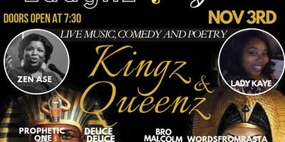 Laughz and Lyrics- Kingz and Queenz