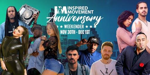Inspired Movement Anniversary Weekender 2019