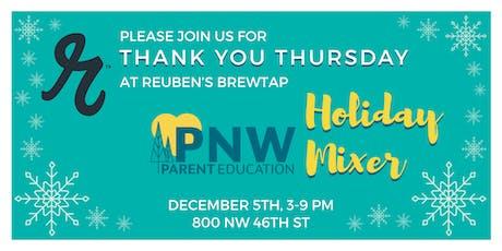 Thank You Thursday at Reuben's tickets