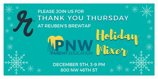 Thank You Thursday at Reuben's