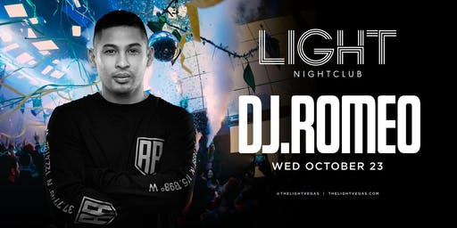 Dj Romeo @ LIGHT Nightclub •FREE ENTRY, GIRLS FREE DRINKS & LINE SKIP•