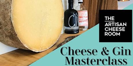 Gin & Cheese - A Pairing MasterClass tickets
