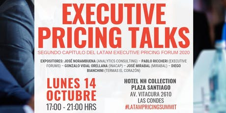 2º Edición Executive Pricing Talks Forum - Chile entradas