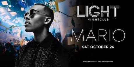 MARIO •FREE ENTRY, GIRLS FREE DRINKS & LINE SKIP• @ LIGHT Nightclub tickets
