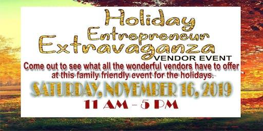 Holiday Entrepreneur Extravaganza Vendor Event