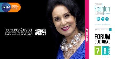 Pasarela Rosario Mendoza entradas