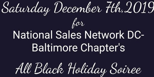 NSN DC-Baltimore Chapter All Black Holiday Soiree:Black Carpet Affair