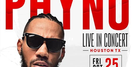 Phyno Live In Concert, Houston, TX tickets