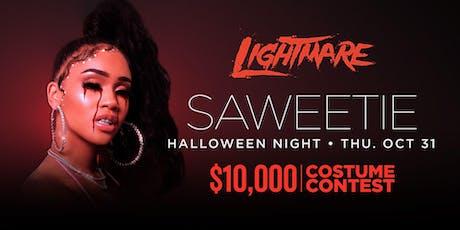 SAWEETIE •FREE ENTRY, GIRLS FREE DRINKS & LINE SKIP• @ LIGHT Nightclub tickets