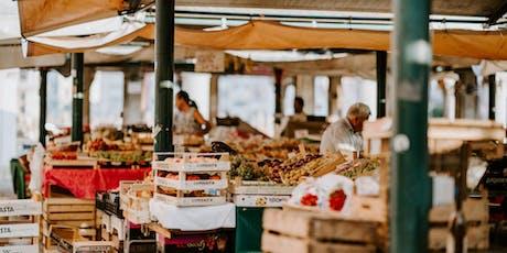 Language WALKshop: Italian... at the Market tickets