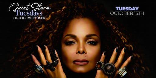 Quiet Storm Tuesday's: Janet Jackson Tribute