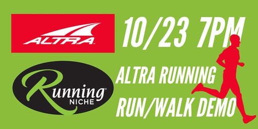 Altra Running Demo 5k Run/Walk Group in the Grove STL