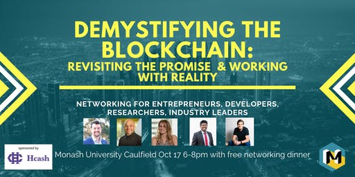 Demystifying the Blockchain: Revisiting the Promise & working with Reality