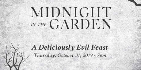 Midnight in the Garden A Deliciously Evil Feast tickets