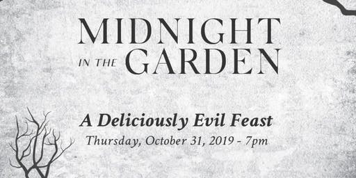 Midnight in the Garden: A Deliciously Evil Feast